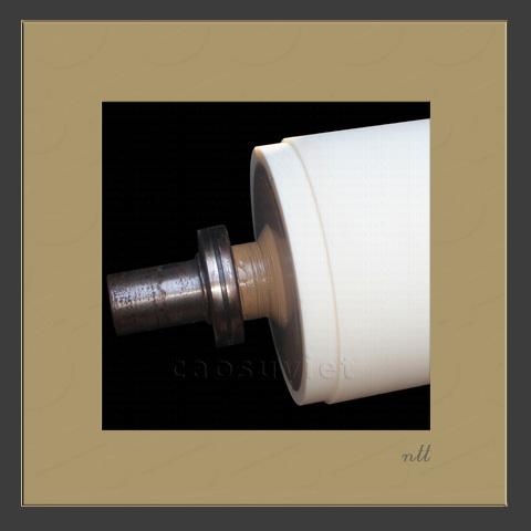 Lamination silicone film roller