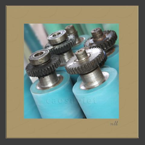 Dampening UV roller