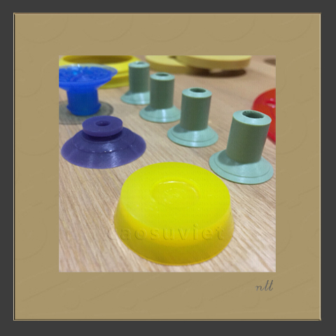 Silicone suction cup
